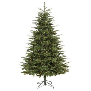 Vickerman 7 Grantwood Pine Artificial Christmas Tree with Clear