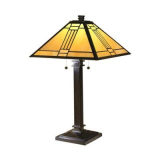 Radionic Hi Tech Tentelle 26.50 in. Bronze Hand Rolled Art Glass Table Lamp DT_TL_TT100015_RHT
