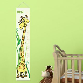 Personalized Gift Kids Canvas Height Growth Chart by JDS Personalized