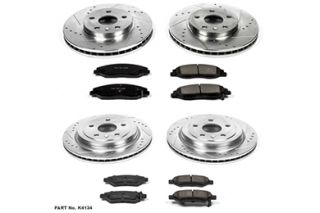 2008 2013 Cadillac CTS Performance Brake Kits   Power Stop K4134   Power Stop Z23 Brake Kit