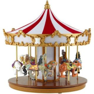 Mr. Christmas 12 in. Animated Grand Carousel 19991