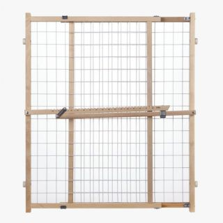 North States Supergate Extra Wide Wire Mesh Gate