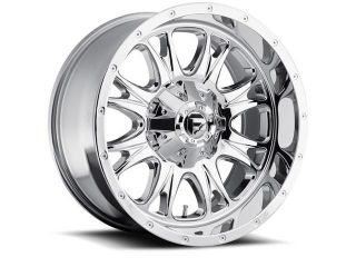 Fuel Offroad D519 Throttle 18x9 5x139.7/5x150 +20mm PVD Chrome Wheel Rim