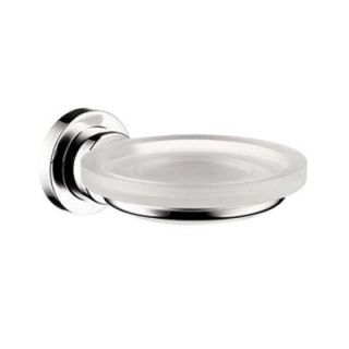 Hansgrohe Axor Citterio Wall Mounted Soap Dish and Holder in Chrome 41733000