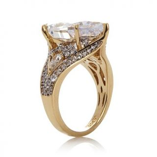 Victoria Wieck 11.91ctw Absolute™ Pear Shaped Ring   7825246