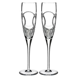 Love Wedding Vows Champagne Flute