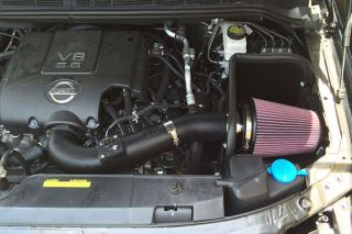 2003, 2004 Toyota Tundra Cold Air Intakes   K&N 63 1058   K&N 63 Series AirCharger High Flow Intake Kit