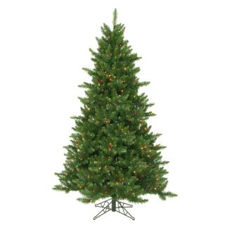 Vickerman 6.5 Camdon Fir Artificial Christmas Tree with 600 LED Multi