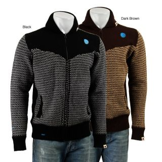 Sabit Mens Shawl Collar Zip Front Sweater  ™ Shopping