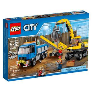LEGO City Excavator and Truck   Toys & Games   Blocks & Building Sets