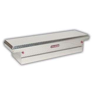 WEATHER GUARD 71.5 in x 20.25 in x 15 in Silver Aluminum Full Size Truck Tool Box