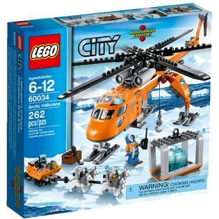 LEGO City Arctic Helicrane   Toys & Games   Blocks & Building Sets