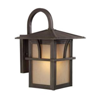 Sea Gull Lighting Medford Lakes 1 Light Outdoor Statuary Bronze Wall Fixture 88881 51
