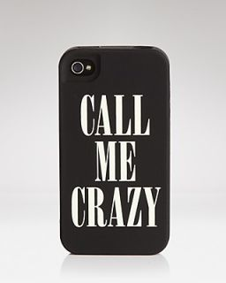 "kate spade new york iPhone 4 Case   ""Call Me Crazy"""