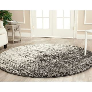 Safavieh Deco Inspired Black/ Grey Rug (6 Round)
