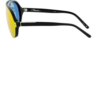 Phillip Lim Black Sunset Mirror Lens Sunglasses