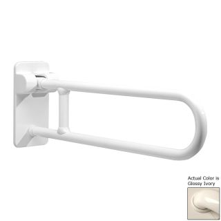 Ponte Giulio USA 33.5 in Glossy Ivory Wall Mount Grab Bar