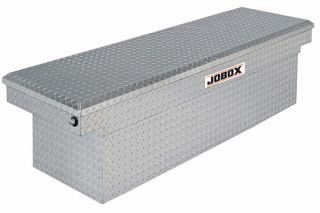 JOBOX Aluminum Single Lid Super Deep Crossover Tool Box