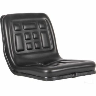 Black Talon Compact Tractor Seat, Prop 65 Compliant