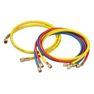 YELLOW JACKET Manifold Hose Set,60 In   Replacement Manifold Hoses and Hose Accessories   33NT64|21990