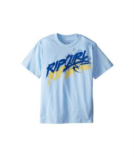 Rip Curl Kids Off Road Premium Tee Big Kids Light Blue