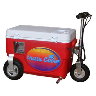 Cruzin Cooler Cooler Scooter 1000w Red   Fitness & Sports   Wheeled