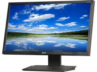 "Acer B233HLJbmdh Black 23"" 5ms Swivel & Height Adjustable Widescreen LED Monitor 250 cd/m2 ACM 100,000,000:1 (1,000:1) Built in Speakers"