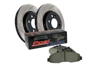 2007 2012 Toyota Camry Performance Brake Kits   StopTech 937.44007   StopTech Slotted Street Brake Kit