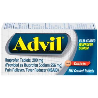Advil Ibuprofen Tablets 200mg Coated Tablets Pain Reliever/Fever