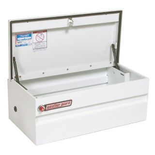 WEATHER GUARD Steel Truck Box Chest, White, Single, 6.0 cu. ft.   Truck Boxes   14V929|645 3 01