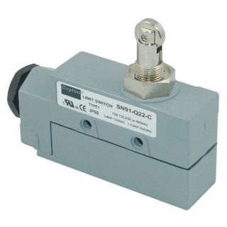 DAYTON Enclosed Limit Switch, 480VAC/DC Voltage Rating, 15 Amps, Top Actuator Location   Limit / Interlock Switches   12T907|12T907