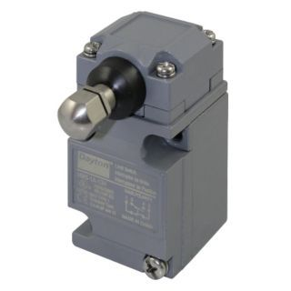 DAYTON Heavy Duty Limit Switch, 600VAC/DC Voltage Rating, 10 Amps, Side Actuator Location   Limit / Interlock Switches   12T840|12T840