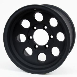Pro Comp Alloy Wheels   Series 7069, 17x9 with 6 on 5.5 Bolt Pattern   Flat Black Machined
