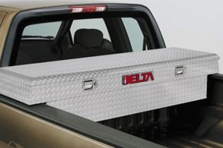 Delta Aluminum Single Lid Crossover Truck Tool Box