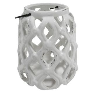 Ecom 16.14 X 8.66 X 1004 Inch White Single Candle Holder