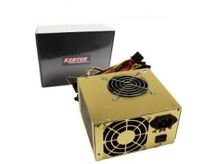 680 WATT 680W ATX 12V POWER SUPPLY Dual Fan PC Desktop Computer NEW 2 FANS PCIE