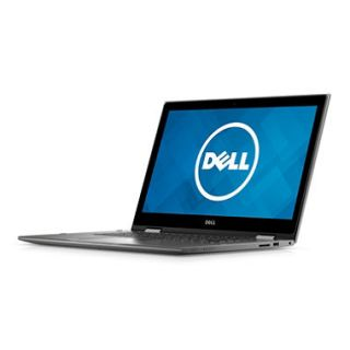 Dell Inspiron Convertible 2 in 1 Full HD Touchscreen 13.3 Laptop, Intel Core i5 6200U Processor, 4GB Memory, 128GB SSD, IR Camera, Windows 10