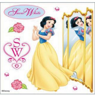 Disney Dimensional Snow White Sticker Sheet