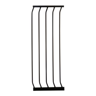 Dreambaby Chelsea Tall Auto Close 14 in x 39.5 in Black Metal Child Safety Gate