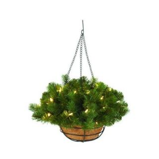 Home Decorators Collection 20 in. Downswept Douglas Fir Hanging Basket 9316800610