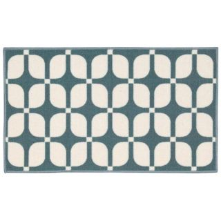 Waverly by Nourison Fancy Free Aqua Accent Rug (110 x 46)