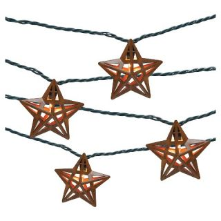 UL 10 count Indoor/Outdoor String Light   Metal Star Cover   Threshold