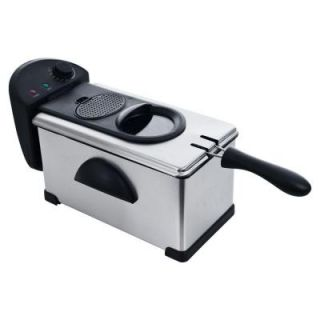 Chef Buddy Electric Stainless Steel 3.20 qt. Deep Fryer 80 DF30