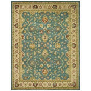 Safavieh Antiquity Blue/Beige 7 ft. 6 in. x 9 ft. 6 in. Area Rug AT15A 8