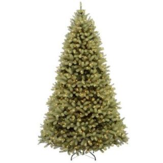 7.5 ft. FEEL REAL Downswept Douglas Fir Artificial Christmas Tree with 1000 Clear Lights PEDD4 310 75