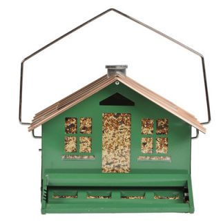 Perky Pet Squirrel Be Gone Home Style Hopper Bird Feeder
