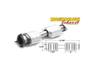 MagnaFlow Direct Fit Catalytic Converters   89 94 Ford Truck Bronco Ii
