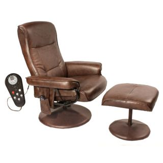 Comfort Products Relaxzen Leisure Reclining Heated Massage Chair with