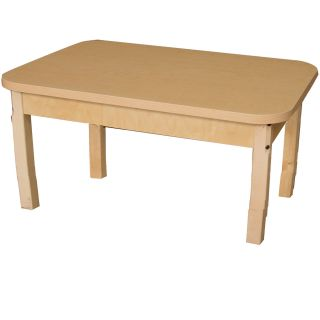 36 x 24 Rectangular Classroom Table by Wood Designs