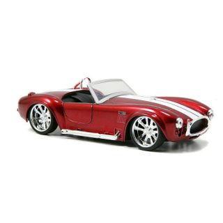 Jada Toys Big Time Muscle 132 Scale Diecast Car   Red 1965 Shelby Cobra 427    Jada Toys